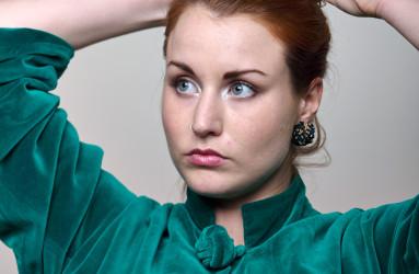Greta in Green